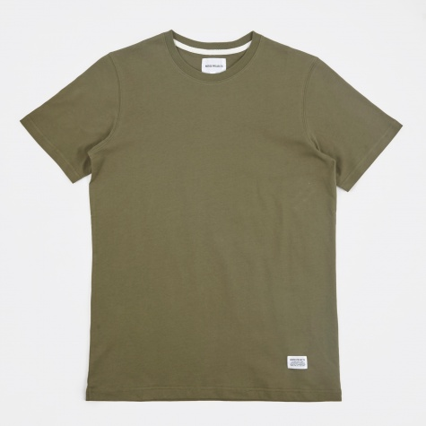 Niels Basic SS T-Shirt - Dried Olive