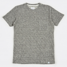 Norse Projects Niels Japanese Pocket T-Shirt - Mouse Grey Melang