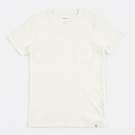 Niels Japanese Pocket T-Shirt - White