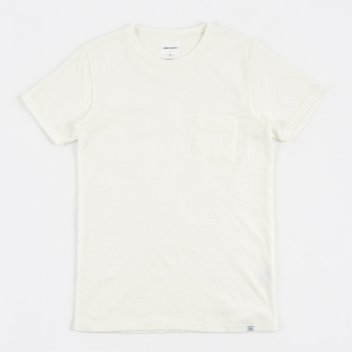 Norse Projects Niels Japanese Pocket T-Shirt - White (Image 1)