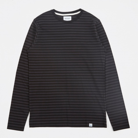 Svali Military Stripe T-Shirt - Black/Charcoal