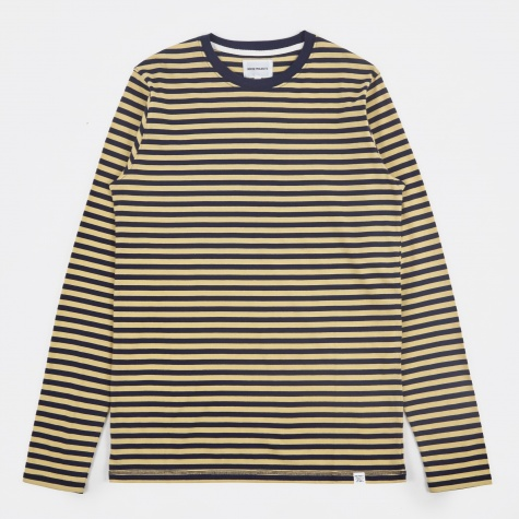 Svali Military Stripe T-Shirt - Navy/Strand Yello