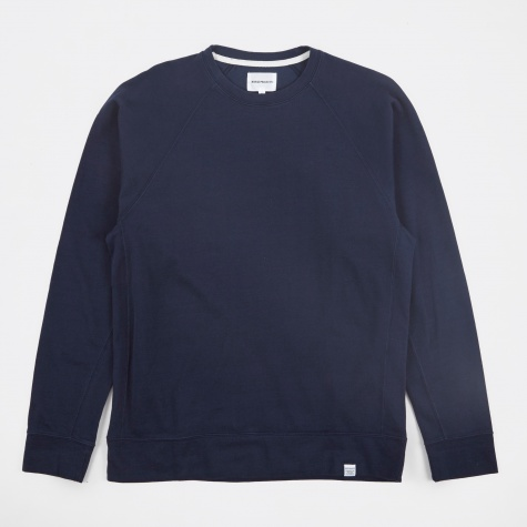 Vorm Mercerised Sweatshirt - Navy