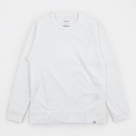 Vorm Mercerised Sweatshirt - White