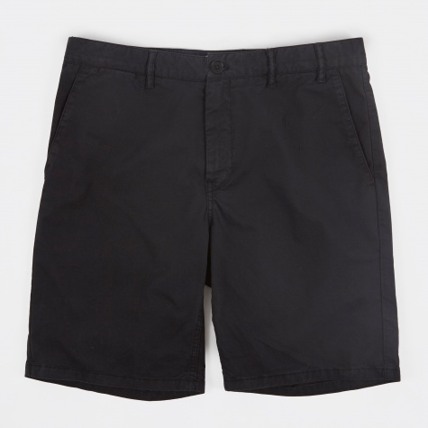 Aros Light Twill Shorts - Black