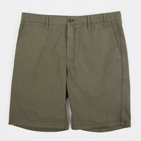 Aros Light Twill Shorts - Dried Olive