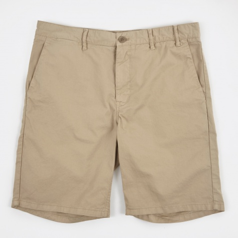 Aros Light Twill Shorts - Khaki