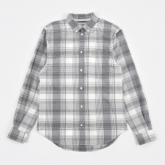 Norse Projects Osvald Light Check Shirt - Navy