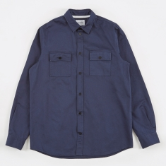 Norse Projects Villads Twill Shirt - Navy