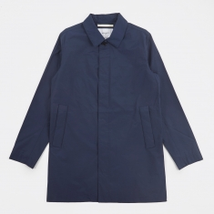 Norse Projects Thor Crisp Cotton Jacket - Navy