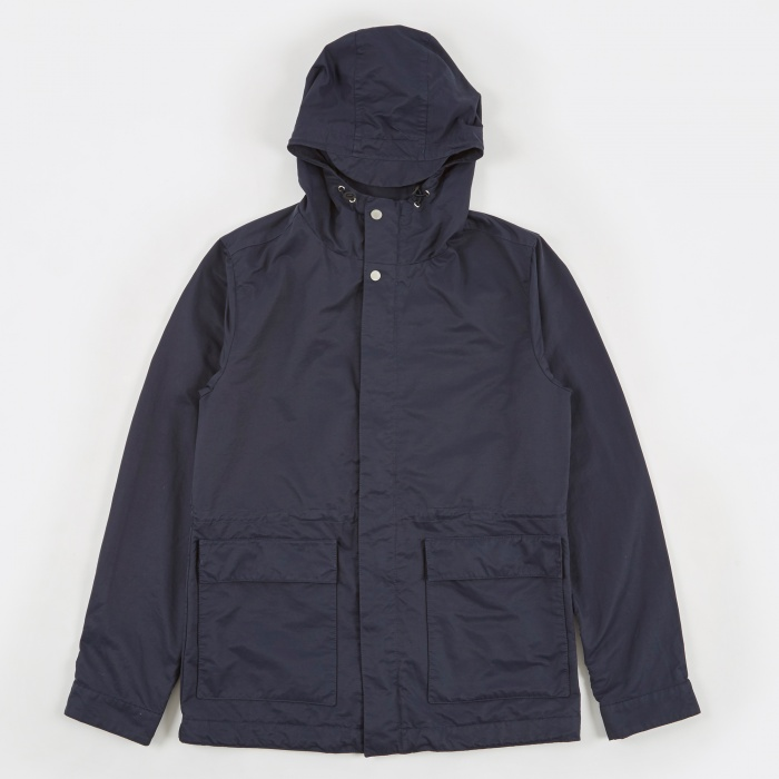 Norse Projects Nunk Summer Jacket - Navy (Image 1)