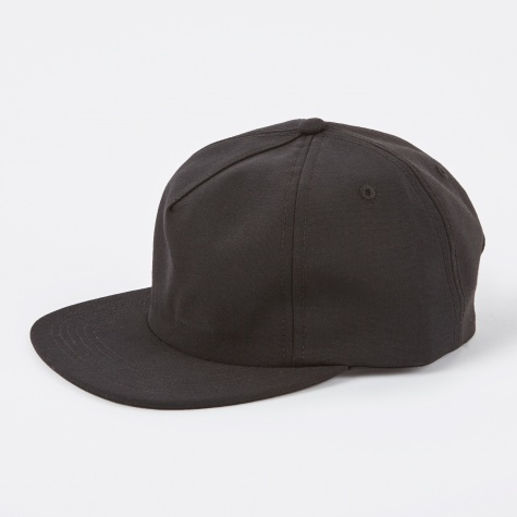 Wool Trucker Cap - Black