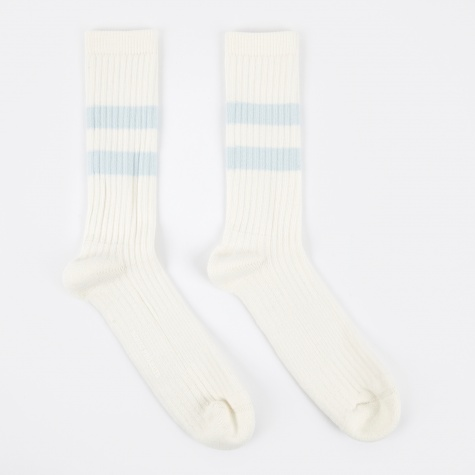 Bjarki Blend Cotton Sport Sock - Pale Blue