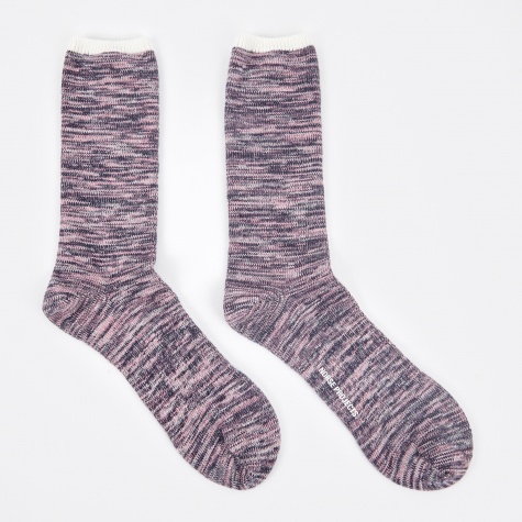 Bjarki Blend Cotton Sock - Boundary Blue