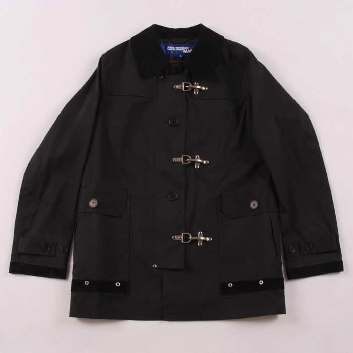 Junya Watanabe Man x Mackintosh Rain Jacket - Black (Image 1)
