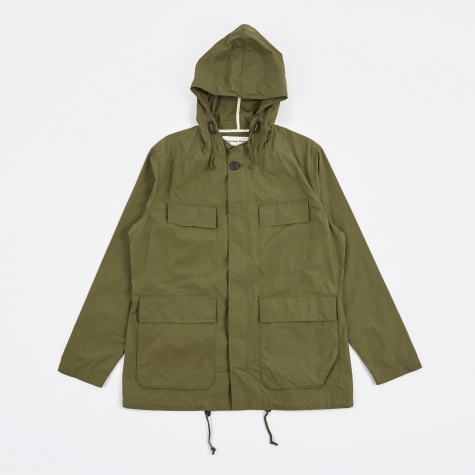 MW Short Parka Jacket - Olive