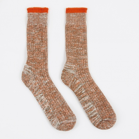 Everyday Sock - Orange