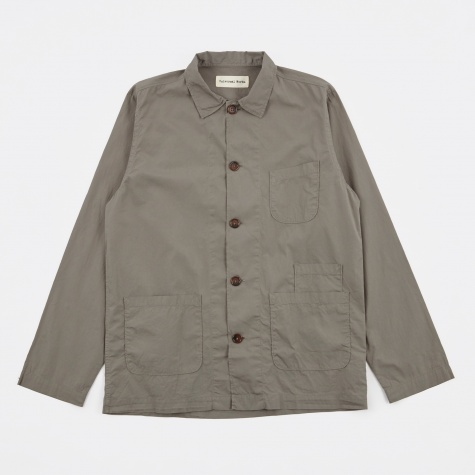 Bakers Overshirt - Dark Stone