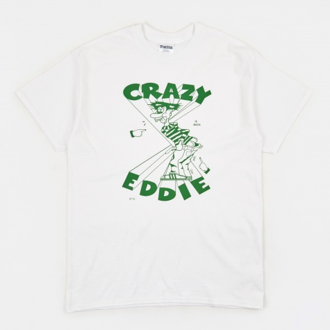 Crazy Eddie T-Shirt - White