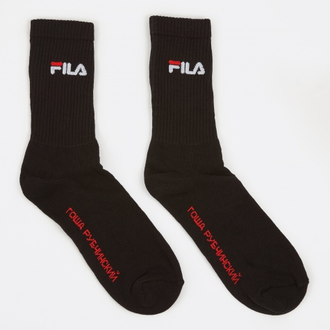 x Fila Socks - Black