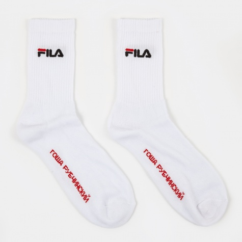 x Fila Socks - White