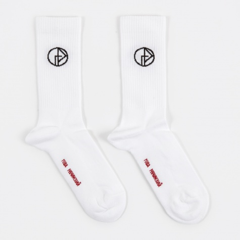 Socks with Logo - White
