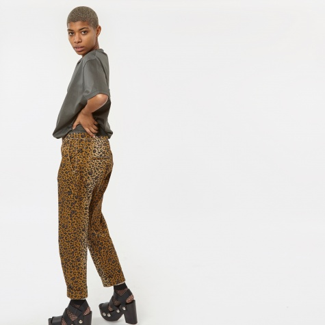 Brick Law Trousers - Leopard
