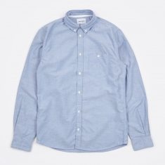 Norse Projects Anton Oxford Shirt - Navy