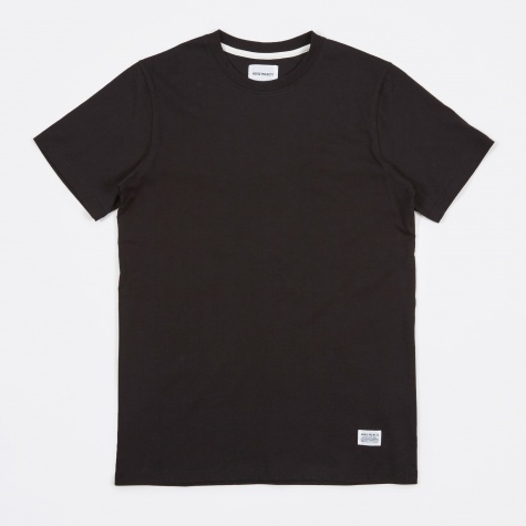 Niels Basic SS T-Shirt - Black