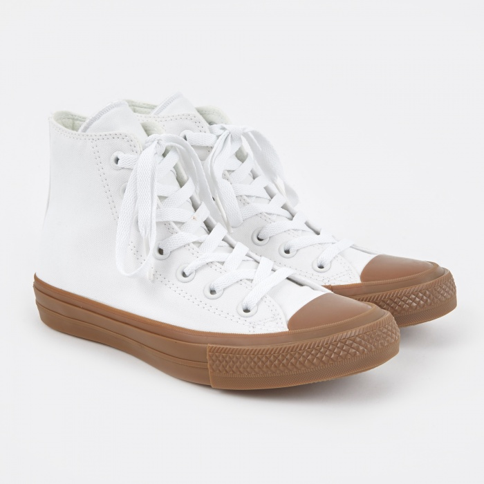 Converse Chuck Taylor All Star II - White/Gum (Image 1)