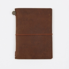 Midori Travelers Notebook Passport - Brown