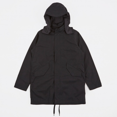 Splash Shell Coat - Black