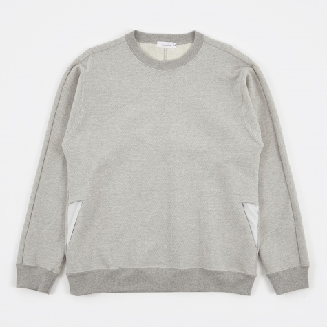 Crew Neck Sweat - Heather Grey