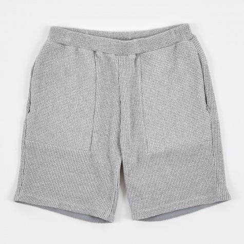 Waffle Shorts - Heather Grey