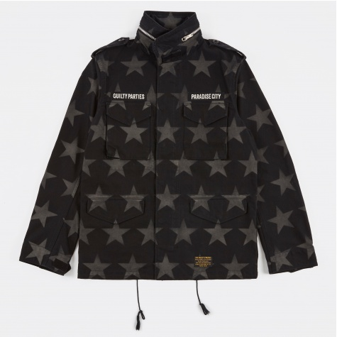 M-65 Star Fied Jacket - Black
