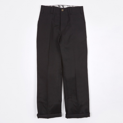 Trim Fit Work Pant - Black