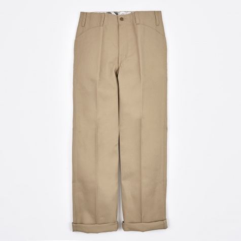 Trim Fit Work Trousers - Khaki