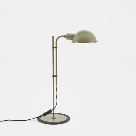 Funiculi Table Lamp - Moss Green