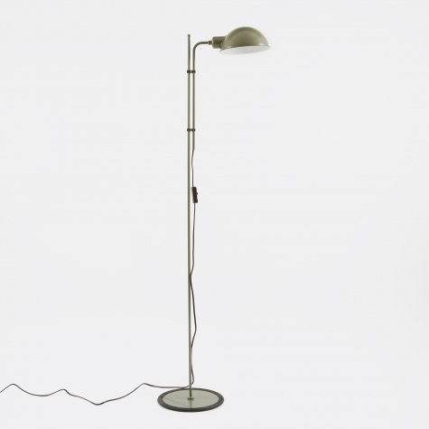 Funiculi Floor Lamp - Moss Green