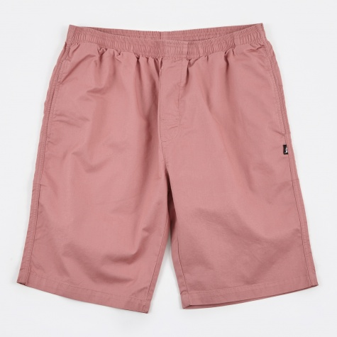 Light Twill Beach Short - Pink
