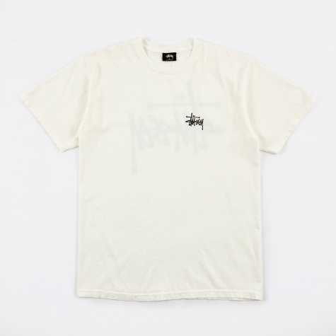 Basic Stussy Pigment Dyed Tee - Natural