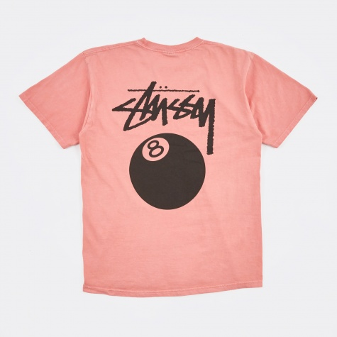 8 Ball Pigment Dyed Tee - Pink