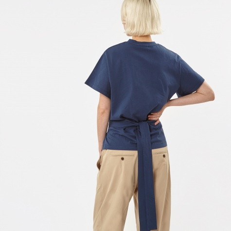 Belt T-Shirt - Dark Cerulean