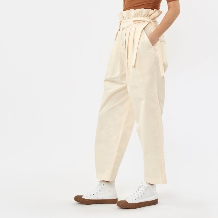 Neul Ghurka Tulip Trousers - Ivory (Image 1)