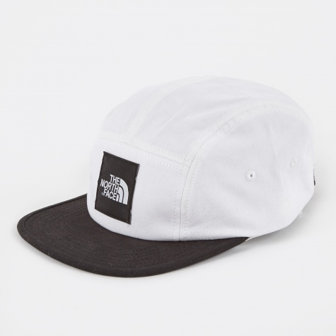 Five Panel Ball Cap - White