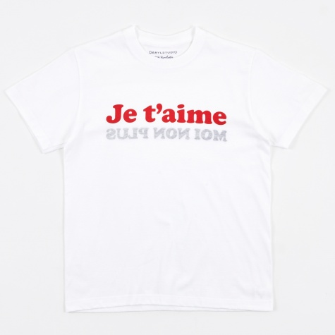 Je T'aime T-Shirt - White/Red/Navy