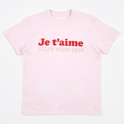 Je T'aime T-Shirt - Pink/Red