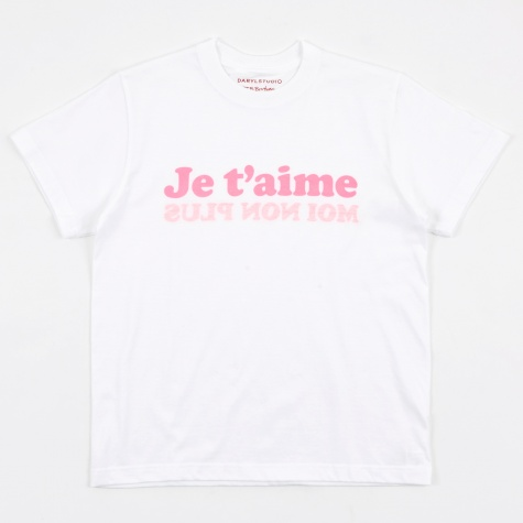 Je T'aime T-Shirt - White/Pink