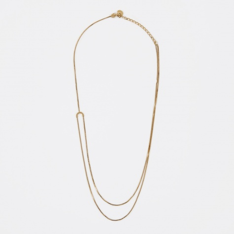 HELIX Necklace - 18K Gold Plated