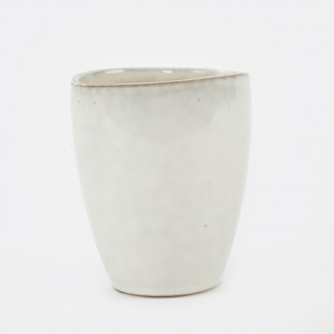 Mug Without Handle 'Nordic Sand' Stoneware - Sand